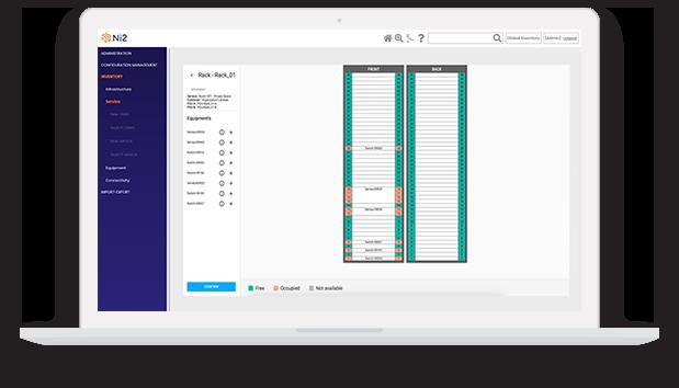 DCIM Rack Planning Design
