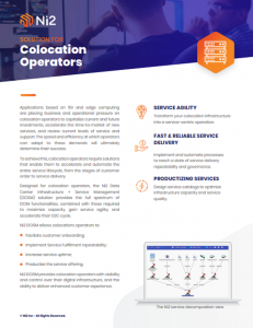 Solution for Colocation Operators